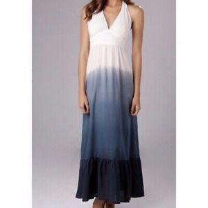 Tommy Bahama Dip Dye Halter Maxi Dress